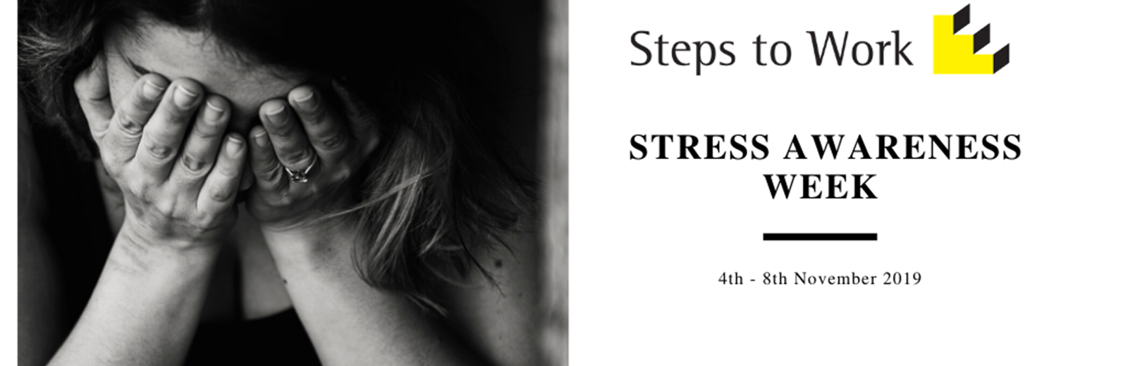 Steps To Work Support Stress Awareness Week 2019